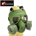 EAIMING Nuclear War Protective Mask with two Fan (Olive Drab)
