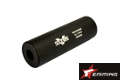EAIMING 110mm Silencer with VLTOR Marking(14mm CW/CCW, Black)