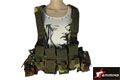 EAIMING Chest Rig Tactical Vest (Woodland Camo)