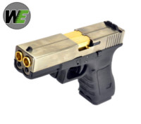 WE Double Barrel G17 GBB Pistol (Silver)