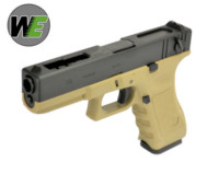 WE G18C  Rail Silde GBB Pistol (Dark Earth)