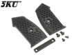 5KU Grip Covers For M4 GBB Rifle (Type A, Black)