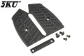 5KU Grip Covers For M4 GBB Rifle (Type C, Black)