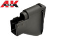 A&K Fixed Stock For MK43 MOD 0/1 AEG LMG (Black)