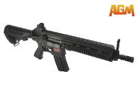 AGM HK416 CQB AEG Rifle (Black)