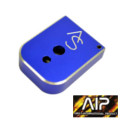 AIP SV Magazine Base for Marui Hi-Capa GBB Pistol (Blue)