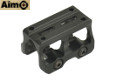 Aimo Aluminum Light Weight Mount For MRO Red Dot Sight (Black)