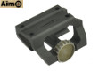 Aimo Aluminum Low Drag Mount For MRO Red Dot Sight (Black)