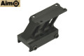 Aimo Aluminum F1 Mount For MRO Red Dot Sight (Black)