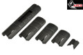 ARES TD Type Rail Cover Set For 20mm Rail System (Black)