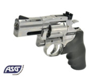 ASG Dan Wesson 715  2.5 inch CO2 6mm Revolver (Silver)