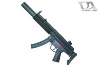 Classic Army MP5SD6 AEG SMG (Black)