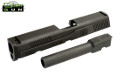 Cybergun Steel Civil Version Slide & Barrel For FNX-45 GBB (BK)