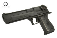 Cybergun MRI Licensed Desert Eagle .50 AE Mark XIX GBB (Black)