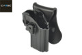 CYTAC Quick Draw Holster For Taurus 24/7 Pistol (Black)