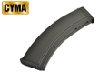 CYMA Mid-Cap 200rd Magazine for AK AEG(Black)