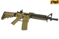 CYMA CM005 M4A1 CQB AEG Carbine / Rifle (Tan & Black)