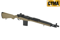 CYMA M14 SOCOM AEG Rifle (Tan)
