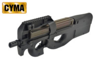 CYMA P90 CQB SMG AEG Rifle (Black)