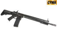 CYMA 375mm KeyMod Handguard M4A1 AEG Rifle (Black)