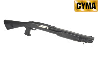 CYMA Benelli M3 Air-cocking Shotgun w/ Fixed Stock (S, Black)