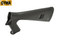 CYMA Fixed Stock w/ Grip For M3 Air-cocking Shotgun (Black)