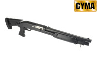CYMA Metal Extendable Stock Benelli M3 Air-cocking Shotgun(S,BK)