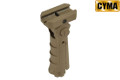 CYMA UTG Style Tactical 0/45/90 Degree Folding Grip (Tan)