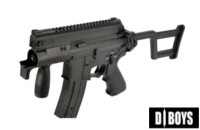 D-BOYS M4 Tactical Pistol SD AEG with folding stock (Black)