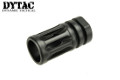 DYTAC Metal M4/M16 Flash Hider (Black, 14mm CW)