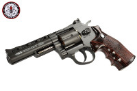 G&G G732 Swing Out DA CO2 Revolver (Black Frame, Brown Grip)