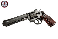 G&G G733 Swing Out DA CO2 Revolver (Black Frame, Brown Grip)