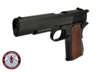 G&G Metal Slide M1911 GBB Pistol (Black)