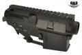 G&D Metal Upper & Lower Receiver For M16 DTW AEG Rifle (Black)