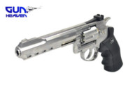 Gun Heaven 702 6 inch 6mm CO2 Revolver (Silver)
