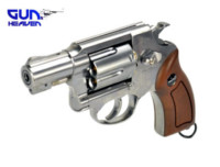 Gun Heaven 733B 2 inch 6mm Co2 Revolver (Silver)