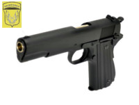 Golden Eagle Metal Slide 1911 GBB Pistol (Black)