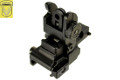 Golden Eagle ARMS Style Adjustable Flip-Up Rear Sight (Black)