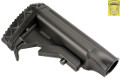 Golden Eagle Extendable Stock For HK416 AEG Rifle (Black)