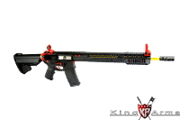 King Arms Black Rain Ordnance Official Licensed M4 AEG Rifle