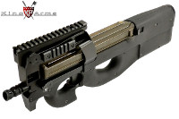 King Arms M3 Tactical P90 Tactical AEG Rifle (Black)