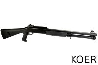 KOER Benelli M1014 Air-cocking Shotgun With Fixed Stock (Black)