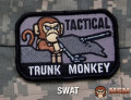 MSM Tactical Trunk Monkey Patch - SWAT