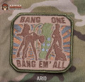 MSM Bang One Bang Em All Large Patch - ARID