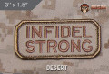 MSM Infidel Strong Patch - Desert