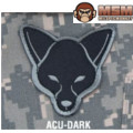 MSM Fox Head Patch - ACU Dark