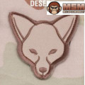 MSM Fox Head Patch - Desert