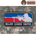 MSM Major League Sniper Patch - Color
