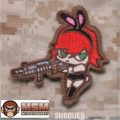 MSM Bunny Girl Patch - Subdued
