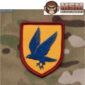 MSM Blue Falcon Patch - Color